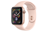 Apple Watch Series 4 GPS 40mm Gold Aluminium Case with Pink Sand Sport Band (Ex-Display Model Only)