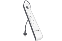 Belkin 2.4 Amp USB Charging 4-outlet Surge Protection Strip