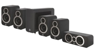 Q Acoustics 3010i Cinema Pack Black