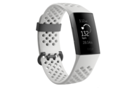 Fitbit Charge 3 (Special Edition Frost White Sport/Graphite Aluminium)