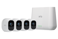Arlo Pro 2 Smart Security System with 4 Cameras