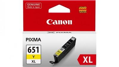 Canon Ink 750 yield Cartridge - Yellow
