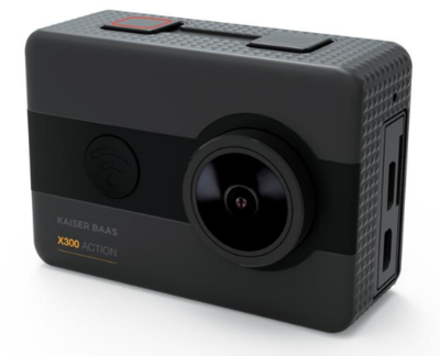 Kaiser bass x300 2 5k action camera kba12053 3