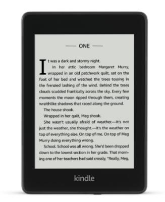 Amazon Kindle Paperwhite (2018) WiFi + 4G LTE 32GB - Black