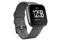 Fitbit Versa Watch (Charcoal Woven/Graphite Aluminium)