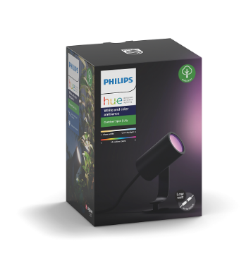 Philips hue white and color ambiance lily outdoor spot light hue629801 3