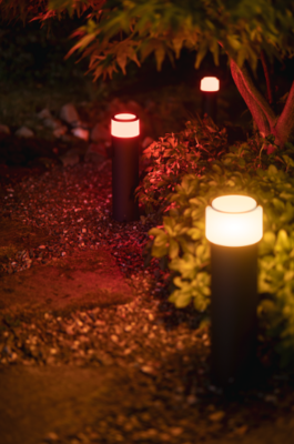 Philips hue white and color ambiance calla large outdoor pedestal hue731801 4