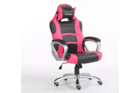 Playmax PC Computer Gaming Chair - Black / Pink