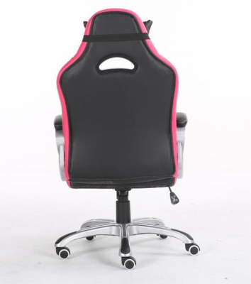 Playmax pc computer gaming chair black pink pgcpb 3
