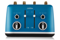 Sunbeam 4 Slice Gallerie Collection Toaster - Blue Peacock