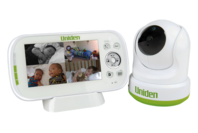 Uniden 4.3in Digital Wireless Baby Video Monitor - Pan & Tilt with remote viewing via Smartphone App