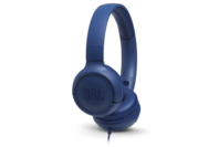 JBL TUNE 500 Wired On-Ear Headphones Blue