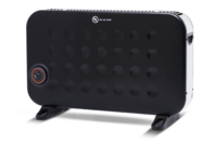 Goldair 2000W Convector Heater with Turbo Timer Black