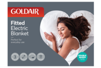 Goldair Double Queen Fitted Electric Blanket