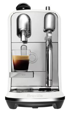 Nespresso breville creatista plus espresso machine sea salt 2