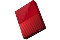 WD My Passport 4TB USB 3.0 External HDD Red