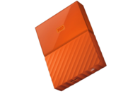 WD My Passport 1TB USB 3.0 External HDD Orange