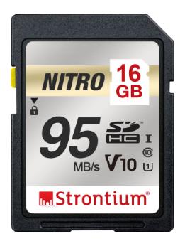 Strontium Nitro Series 16GB SD Memory Card