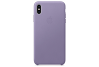 Apple iPhone XS Max Leather Case - Lilac
