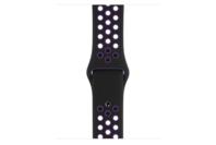 Apple Watch 40mm Black/Hyper Grape Nike Sport Band - S/M and M/L