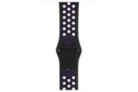 Apple Watch 44mm Black/Hyper Grape Nike Sport Band - S/M and M/L