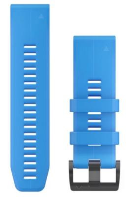 Garmin QuickFit 26 Silicone Watch Band (Cyan Blue)