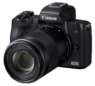 Canon m50kisb eosm50 single lens kit mirrorless camera 4
