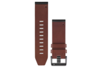 Garmin QuickFit 26 Leather Watch Band (Brown)