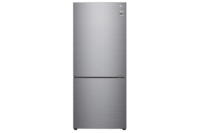 LG 454L Stainless Finish Bottom Mount Fridge