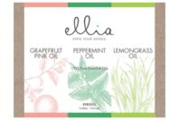 Ellia Essential Oils Triple Pack - Grapefruit, Peppermint, Lemongrass