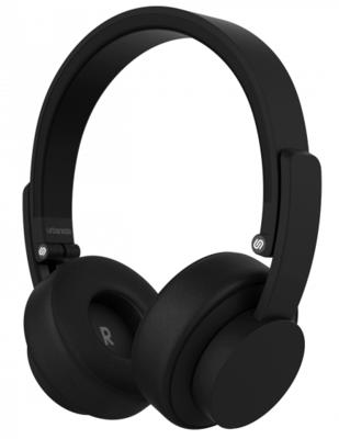 Urbanista Seattle On-Ear Wireless Bluetooth Headphones Black