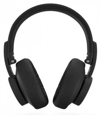 Urbanista New York Over-Ear Wireless Noise Cancelling Bluetooth Headphones Black