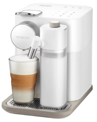 De'Longhi Nespresso Gran Lattissima Nespresso Coffee Machine White