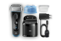 Braun Series 5 5190cc AutoSensing Electric Foil Shaver w/ Clean & Charge Station