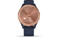 Garmin vivomove 3S, Sport, 39mm, Blue-Gold, Silicone