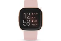 Fitbit Versa 2 Health & Fitness Smartwatch (Petal / Copper Rose Aluminum)