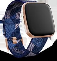 Fitbit versa2 3qtr se navy pink copper rose blank std rgb 0 1x