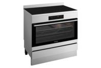 Westinghouse 90cm Stainless Ceramic Freestanding Cooker, 5 zone