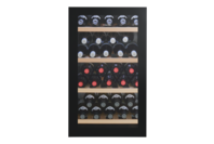 Vintec 35 Bottle (max - Bourdeaux) Wine Cabinet- Black