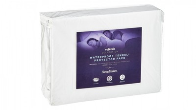 Sleepmaker Refresh Tencel Mattress Protector - King Single
