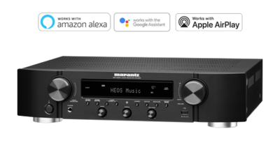 Marantz NR1200 2ch Slim Stereo Receiver with HEOS Built-in