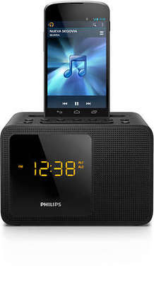 Phillips Clock Radio + USB Charge
