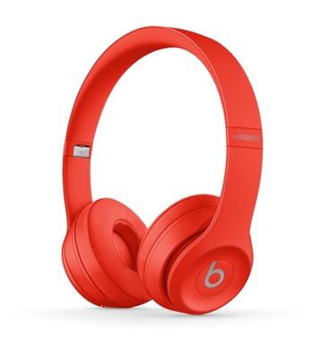 Beats solo3 wireless headphones   red %286%29