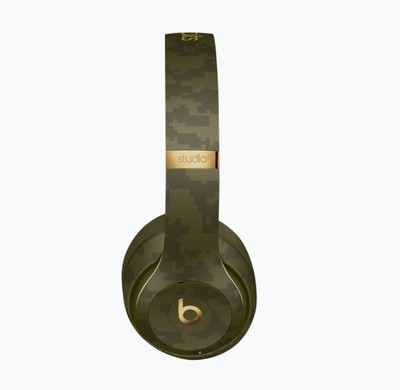 Beats studio3 beats camo collection   forest green %283%29