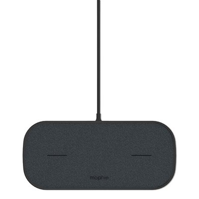 Mophie dual wireless charging pad black 2