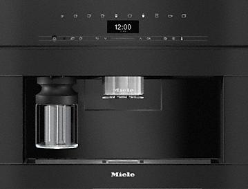 Miele CVA 7440 VitroLine Obsidian Black Coffee Machine
