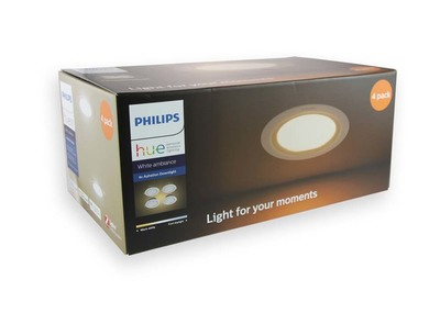 Philips Hue Aphelion 125 9w Tw Recessed Extension Pack(4)