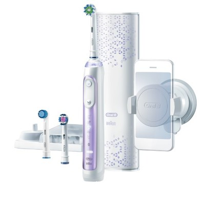 Oral-B Genius G9000PU Orchid Purple Electric Toothbrush