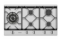 Westinghouse 90cm 5 burner stainless steel gas cooktop