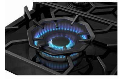 Westinghouse 60cm 3 burner black tempered glass gas cooktop %285%29